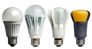 Photo of LED bulbs