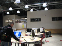 Photo of WestSide computer center