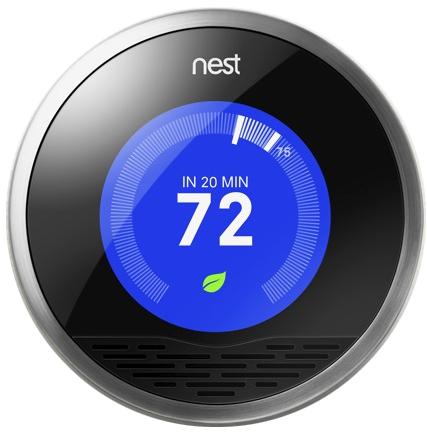 Photo of Nest thermostat
