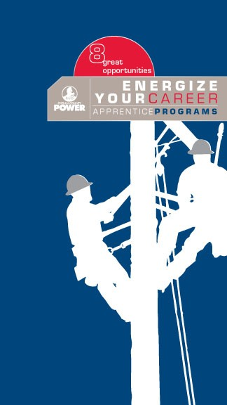 8 great opportunities. Chelan County Power. Energize your Career. Apprentice Programs