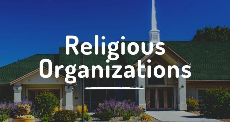 Religious organizations and houses of worship