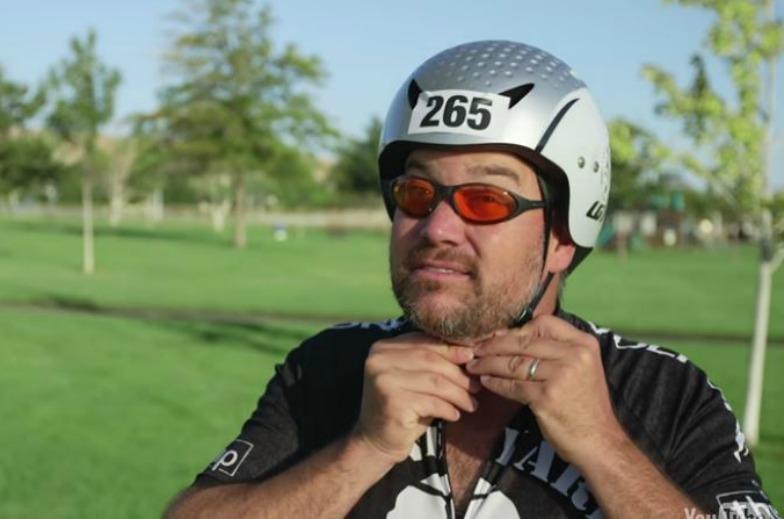 Image of biker on Loop Trail