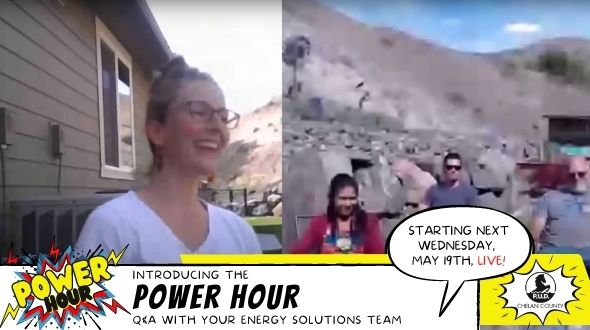 Screen shot of Power Hour side-by-side view with Lacy, Griselda, Sergio, and Scott