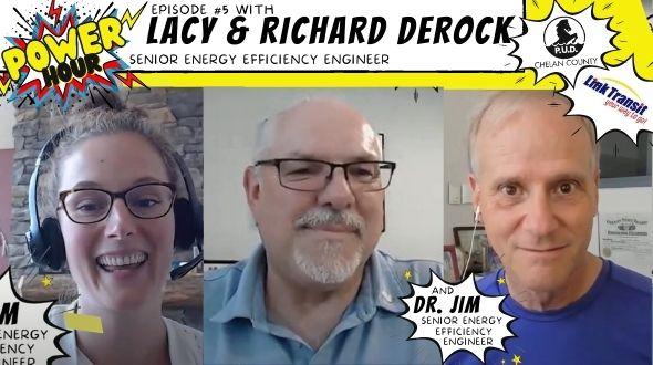 screenshot of livestream, Power Hour #5 with Richard DeRock of Link Transit