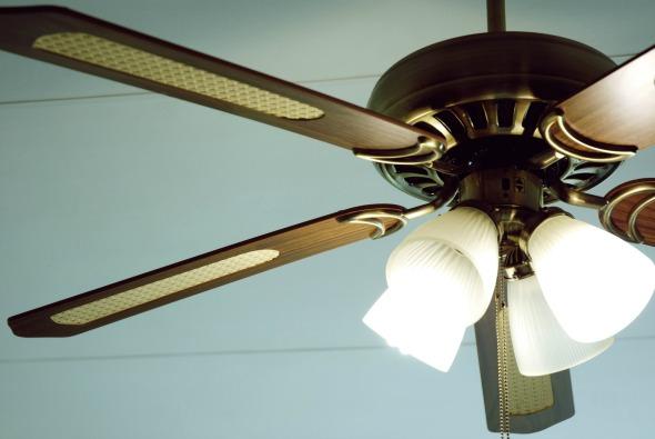 Photo of ceiling fan