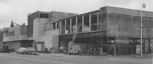 Photo of PUD building from 1955 construction