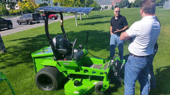 Photo of electric mower