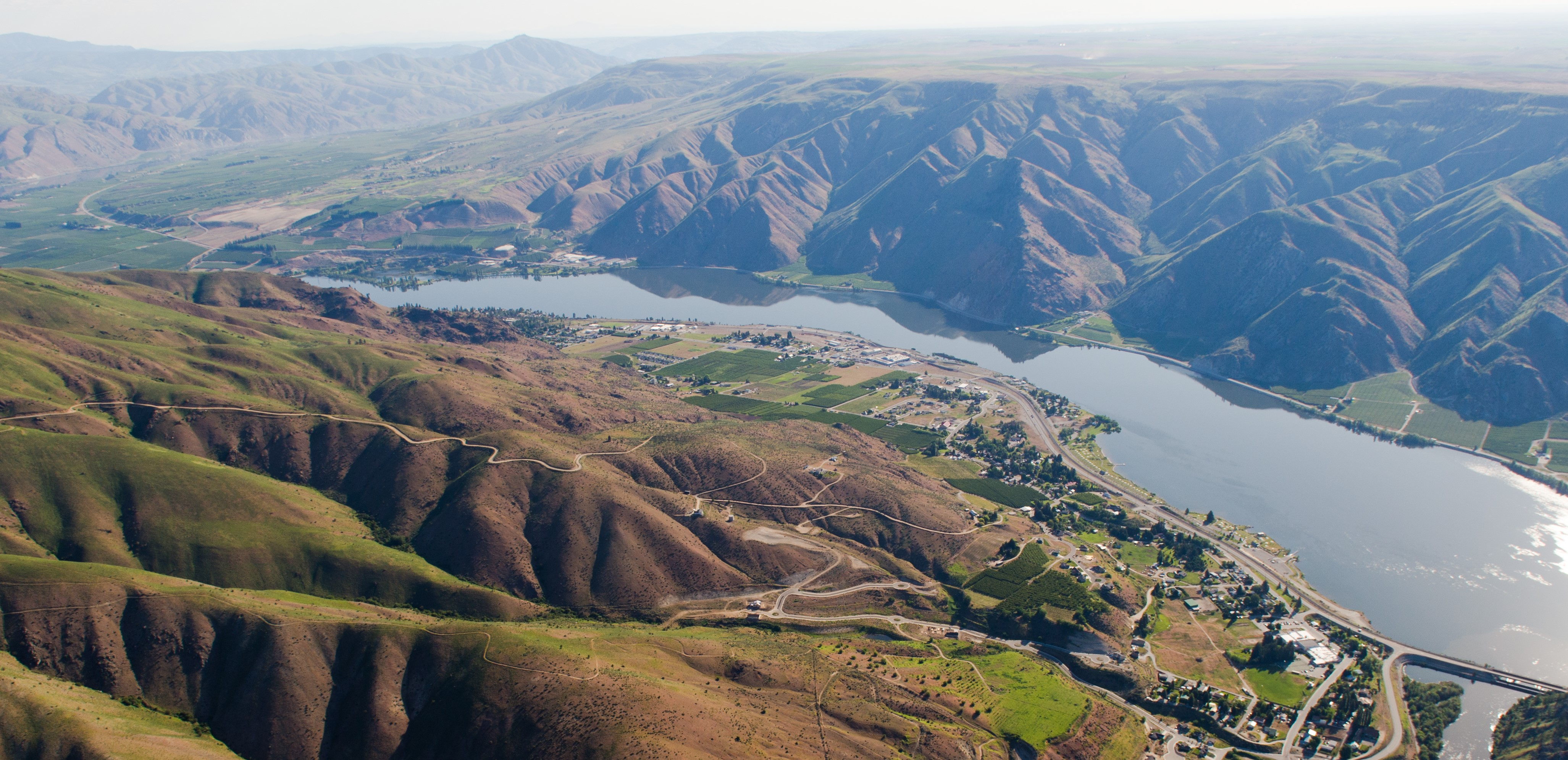 Aerial Image of Entiat