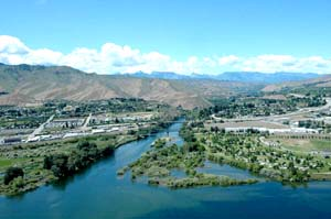 Photo of the Wenatchee Confluence area