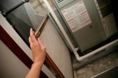 Checking your furnace filter