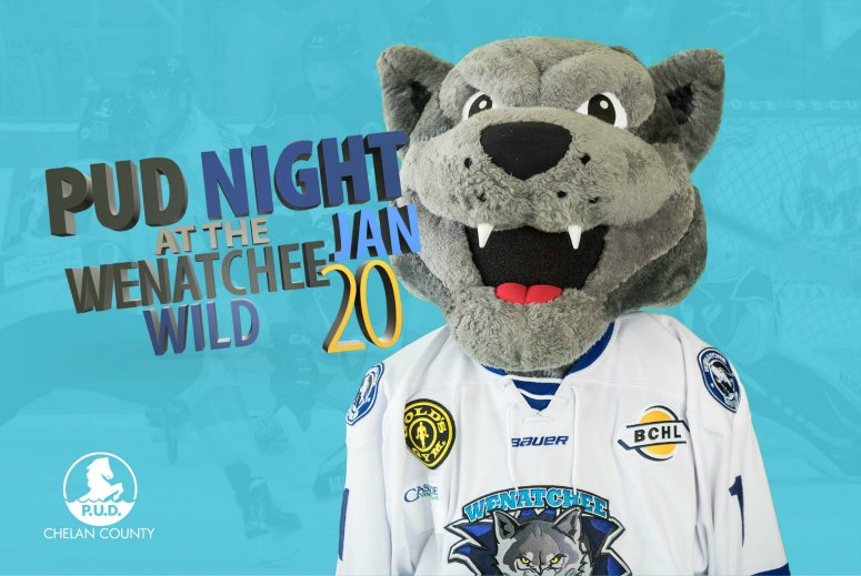 Graphic for Chelan PUD Night at the Wild