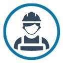 icon of contractor