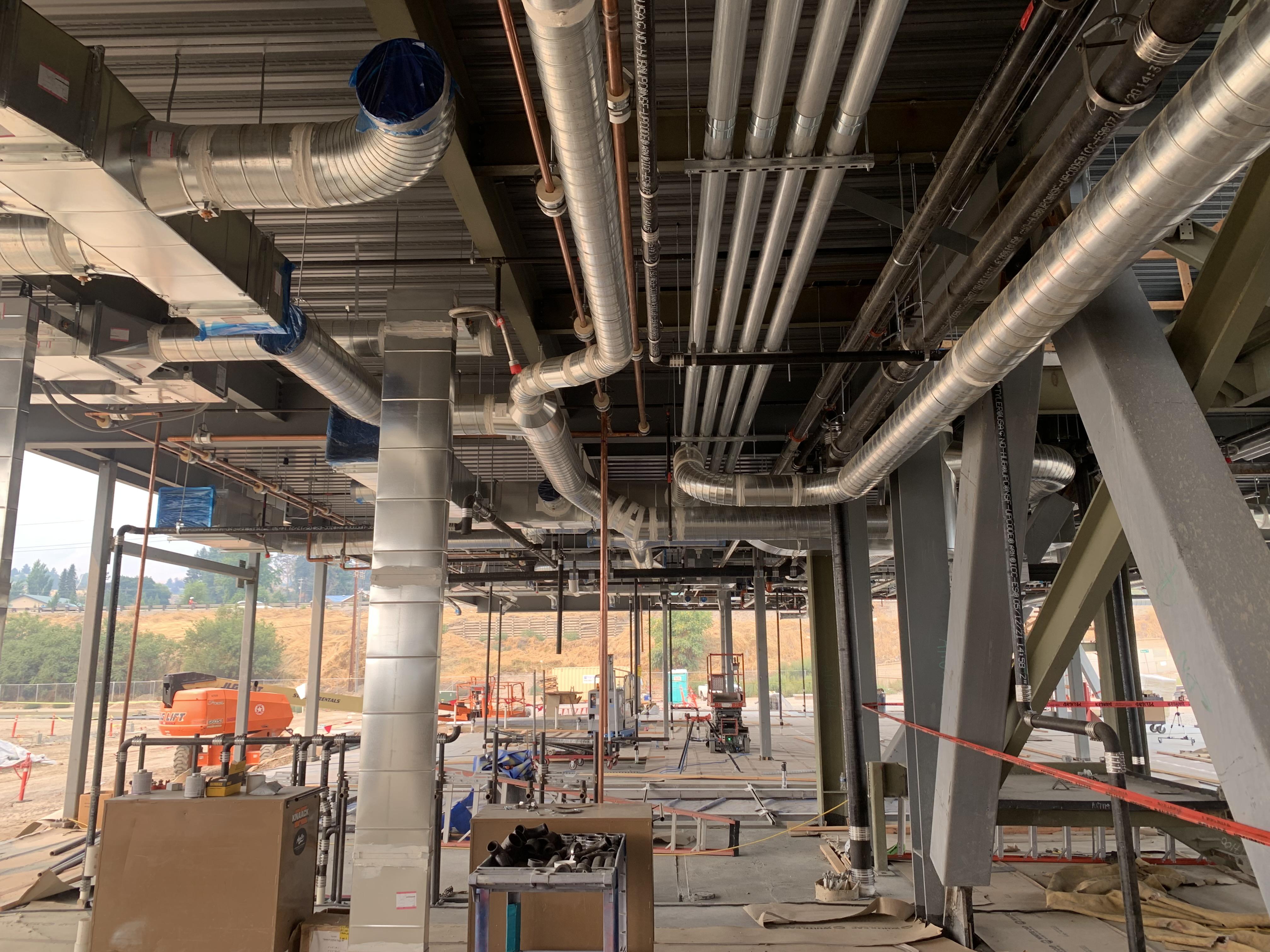 image of Service Center overhead conduit
