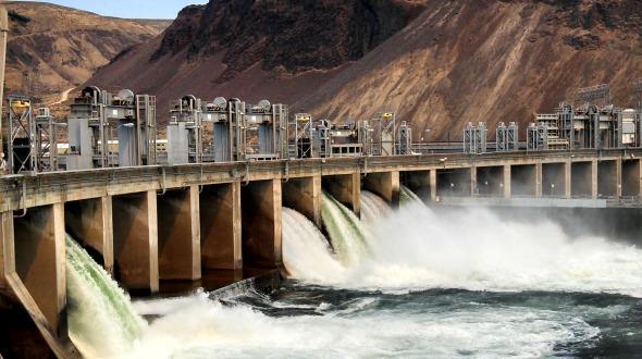 Image of Rock Island Dam