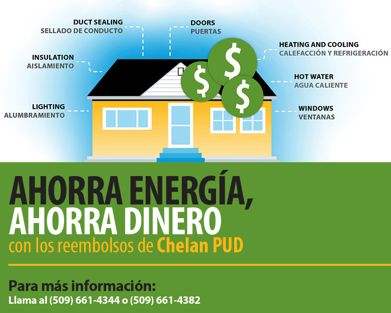 Save Energy Save Money graphic SPAN