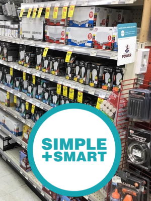 Simple+Smart lighting at Ace Hardware