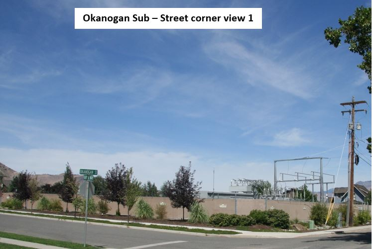 Photo of Okanogan Substation
