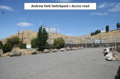 T-Andrew York access road