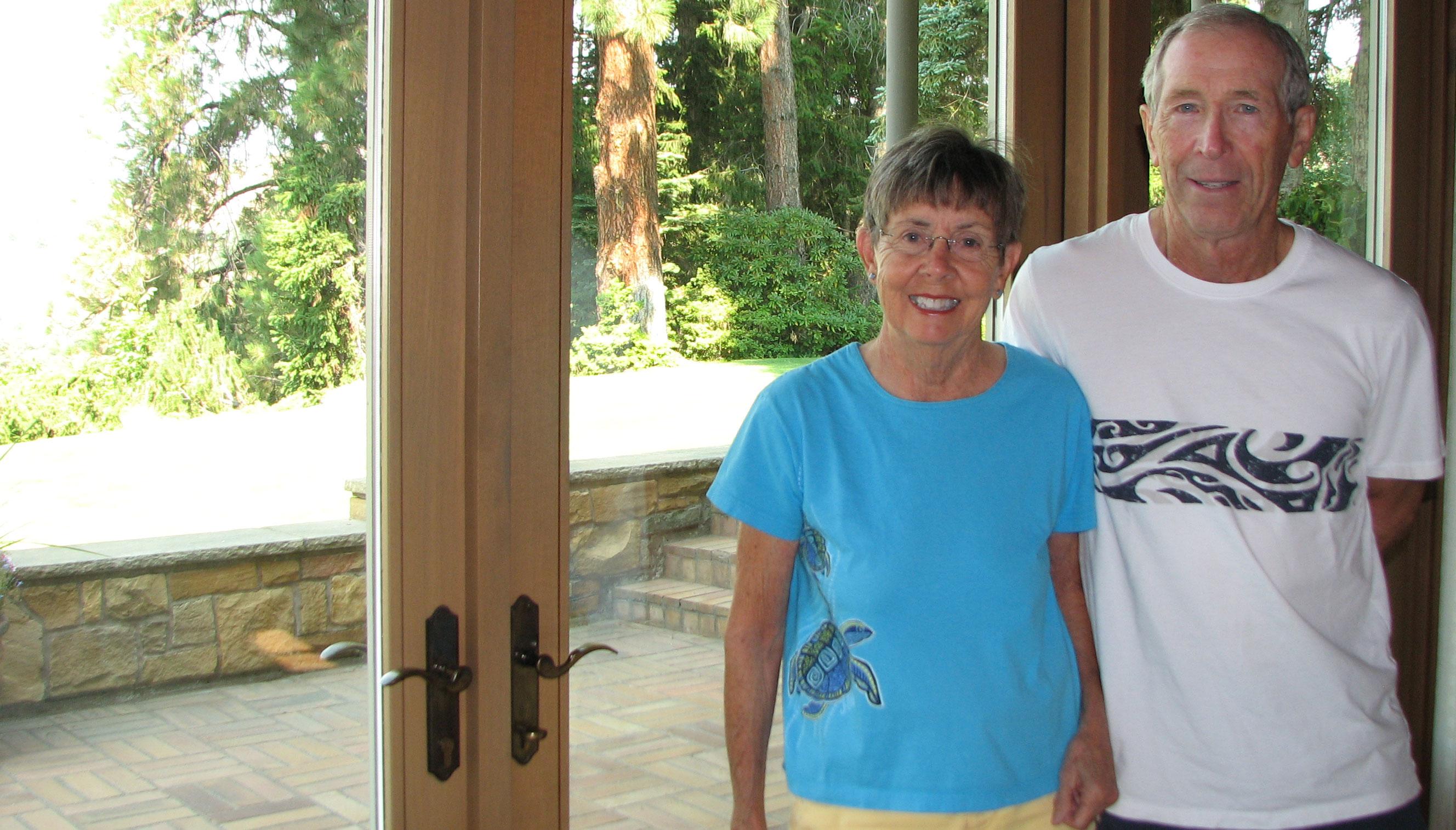 Susan and David Weber